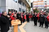 Isparta Belediyesi çalışanları tüm varlığı ve dualarıyla Türk Ordusunun yanında