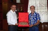 Pforzheim'da Yaşayan Nevşehirliler, Belediye Başkanı Seçen'i Ziyaret Etti