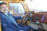 Çamlıdere Belediye Başkanı çamdan klasik makam aracı yaptırdı