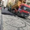 Parke taşlarının üzerine asfalt döken Kartal belediyesi konuştu