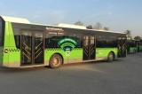 Belediye otobüslerinde ücretsiz internet dönemi