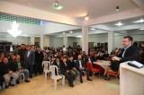 Alanya Belediye Başkanı Adem Murat Yücel, Avsallar Mahallesi'nde istişare toplantısına katıldı.