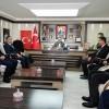 MHP Sarız Belediye Başkan Adayı Bayrak'tan, Belediye Başkanı Eroğlu'na ziyaret