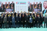 AK Parti Antalya Belediye Başkan Adaylarını Tanıttı