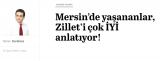Mersin'de yaşananlar, Zillet'i çok İYİ anlatıyor!