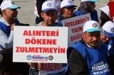 Bolu Belediyesinde işten çıkarılan işçilerin oturma eylemi devam ediyor