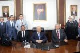 MHP Lideri Bahçeli'den Amasya Belediyesine ziyaret