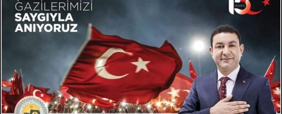 Başkan Özyavuz'un 15 Temmuz Mesajı