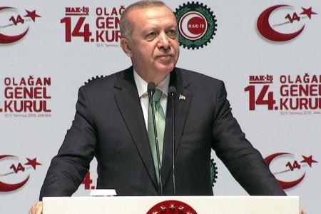 Erdoğan: Akşam başka, sabah başka yalan söyleyenleri milletime şikayet ediyorum