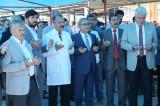 Kütahya Belediyesi Canlı Hayvan Pazarı düzenlenen törenle kurbanlık satışları için açıldı.