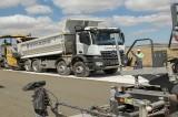 Kütahya'da ilk kez beton asfalt