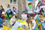 Silivri'de anne ve çocuk atölyeleri devam ediyor