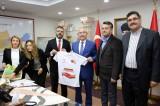Mardin Valisi ve Büyükşehir Belediye Başkan Vekili Yaman organlarını bağışladı
