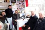 Belediye Başkanı Akın'dan esnaf ziyareti
