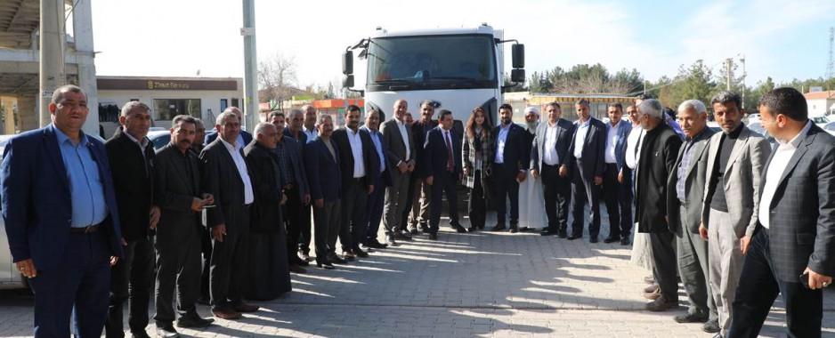 Harran Belediyesi Araç Filosunu güçlendirmeye devam ediyor
