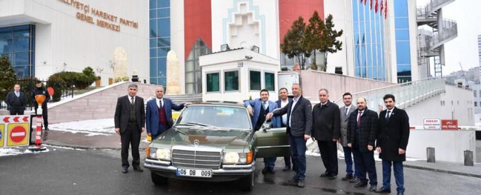 Bahçeli'den Harran Belediye Başkanı'na sürpriz hediye