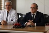 Trafik kazasında yaralanan Mehmet Özhaseki'nin sağlık durumu iyi