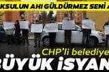 Vatandaşın arsasına el koyan CHP'li belediyeye isyan