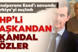 CHP Çanakkale Belediye Başkanı Ülgür Gökhan'dan skandal sözler! Esad'ı cansiperane savundu…