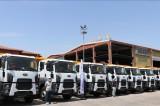 Diyarbakır Büyükşehir Belediyesi 53 yeni aracı hizmete aldı