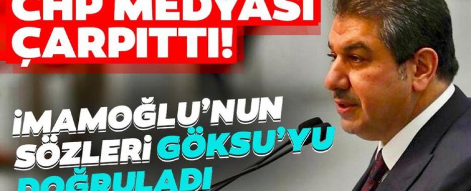 CHP medyası çarpıttı! İmamoğlu, Esenler Belediye Başkanı Tevfik Göksu'yu doğruladı…