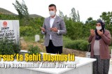 Tarsus'ta Şehit Düşen Askerin Eşini Belediye Başkanı Aracıyla Mezarlığa Götürdü