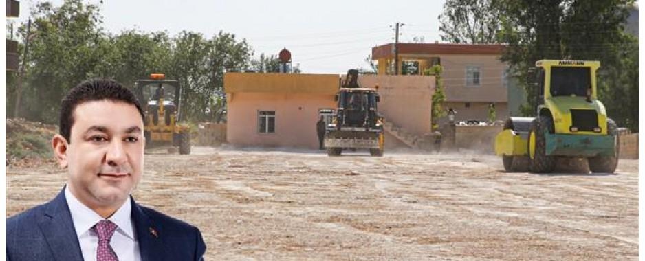Harran'da bataklık yaşam alanına dönüştürülüyor