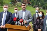 Çevre ve Şehircilik Bakanı Kurum: Haliç'teki görüntüler hepimizin içini sızlatıyor