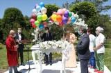 Kayseri'de çiftlerin nikahları parkta kıyılıyor