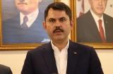 Çevre ve Şehircilik Bakanı Kurum: Edirne'den çıkıp Hakkari'ye kadar vatandaşlarımız bisikletle gitsin istiyoruz