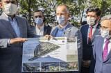 Bakan Kurum Millet Bahçesi ve Kentsel Dönüşüm Alanını inceledi