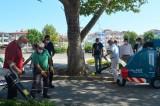 Lüleburgaz Belediye Başkanı Gerenli, cadde temizledi