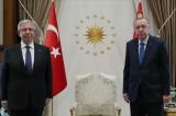 Cumhurbaşkanı Erdoğan, Ankara Büyükşehir Belediye Başkanı Yavaş'ı kabul etti