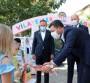 Belediye Başkanı Arı, öğrencilere kuru üzüm dağıttı