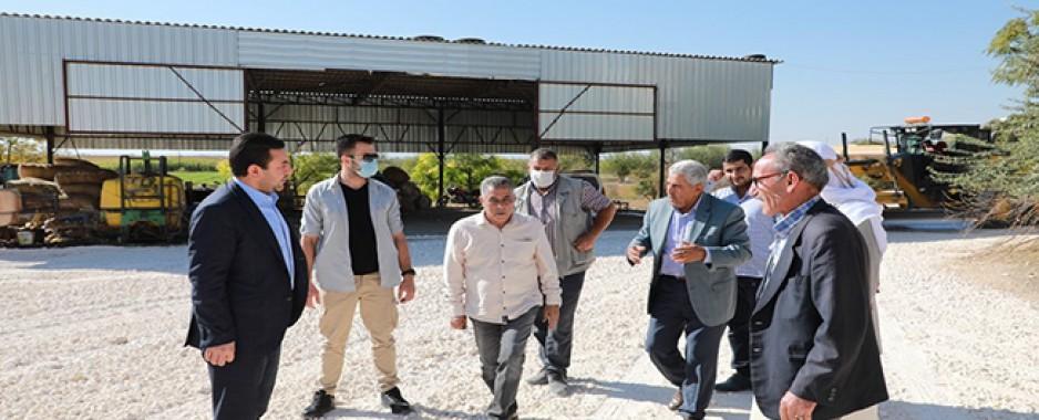 Başkan Özyavuz'dan Harran'da Asfalt Atağı