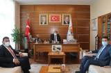 Başkan Özyavuz, Mehmet Özhaseki'yi ziyaret etti