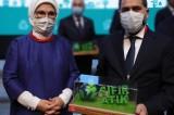 'Sıfır Atık Fikir ve Proje' yarışmasında Yakutiye Belediye Başkanı Uçar'a ödül