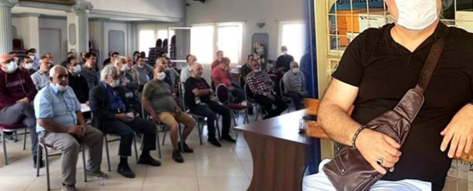Test sonucunu beklerken belediye toplantısına katıldı: Belediye başkanı dahil 50 kişi karantinada