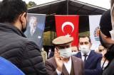CHP'li Belediye Başkanı açılış yaparken hacze geldiler