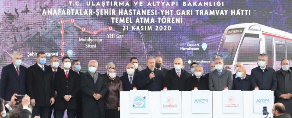 Bakan Karaismailoğlu: Kayseri'yi hızlı demir yolu ile tanıştıracağız
