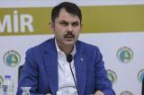 Çevre ve Şehircilik Bakanı Kurum: Orta hasarlı binalarımıza güçlendirme yapılarak girilebilir