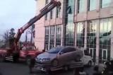 CHP'li Başkanın makam otosu haczedildi
