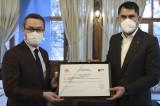 Bakan Kurum ilk 'Sıfır Atık Belgesi'ni Başakşehir Belediyesine verdi