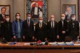 Kütahya Belediye Başkanı Alim Işık, yeni görevlendirilenlere başarılar diledi