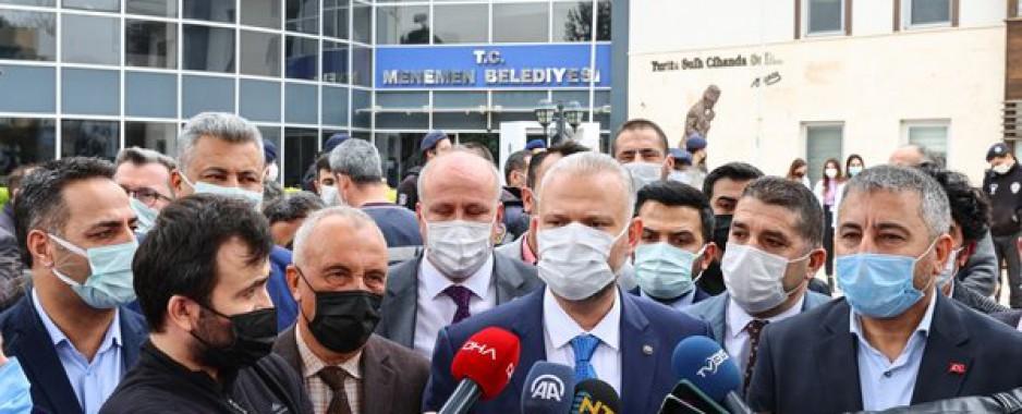 Menemen Belediyesi AK Parti'ye geçti