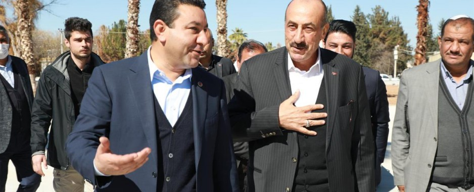 ATİLLA'DAN BAŞKAN ÖZYAVUZ'A ZİYARET