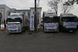 Malatya'da toplanan insani yardımlar Suriye'ye gönderildi