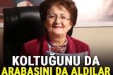 CHP'li başkan 'koltuğundan oldu' aracı haczedildi