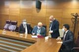 Başkan Şevik Buldan'a yapılacak spor yatırımları için protokol imzaladı