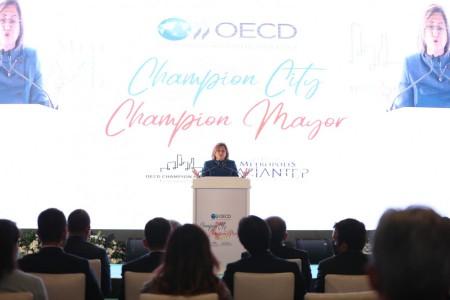 Fatma Şahin OECD Champion Mayors İnisiyatifine Seçildi
